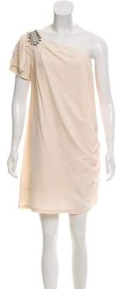 ALICE by Temperley Silk One-Shoulder Dress