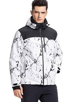 Lumberfield Men's Mountain Waterproof Ski Jacket Windproof Rain Jacket