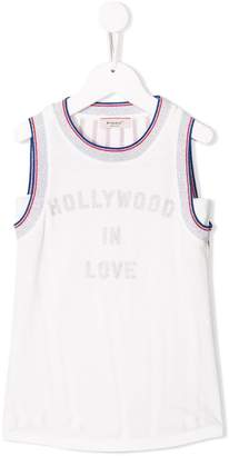 Pinko Kids printed tank top