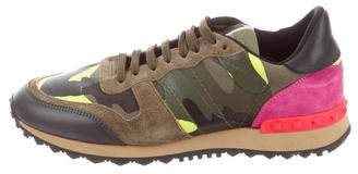 Valentino Psychedelic Camo Rockrunner Sneakers
