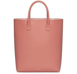 Mansur Gavriel Calf North South Tote - Blush