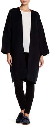 Vince Wool & Cashmere Cardigan Coat