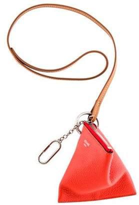 Celine Triangle Key Bag Charm