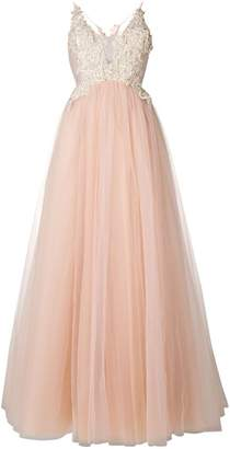 Loulou embellished tulle princess gown