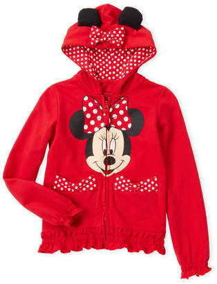 Freeze Kids (Girls 4-6x) Minnie Mouse Bow Hoodie