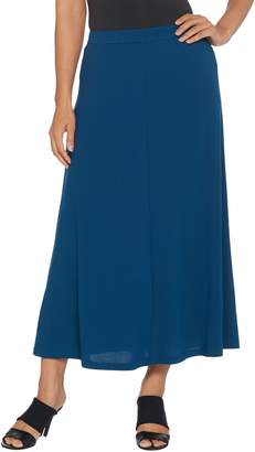 Linea By Louis Dell'olio by Louis Dell'Olio Petite Moss Crepe Pull-On Maxi Skirt