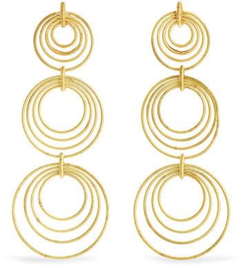 Buccellati Buccellati - Hawaii Waikiki 18-karat Gold Earrings - one size