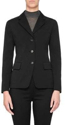 Prada Poplin Stretch Jacket