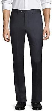 Officine Generale Men's Paul Straight-Fit Flannel Wool Pants