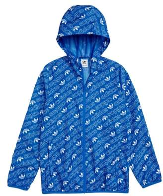 adidas Logo Hooded Jacket