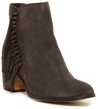 Kenneth Cole Reaction Rotini Fringe Ankle Boot $139 thestylecure.com