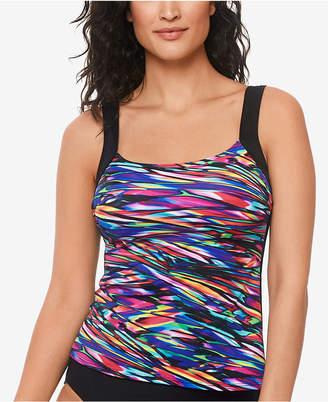 Reebok Glassworks Tankini Top Women Swimsuit