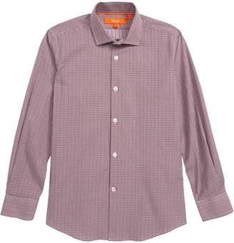 Tallia Plaid Dress Shirt