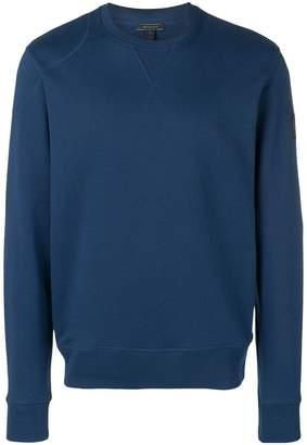 Belstaff logo sleeve sweatshirt