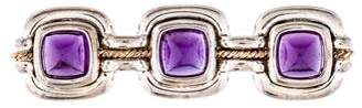Tiffany & Co. Two-Tone Amethyst Brooch