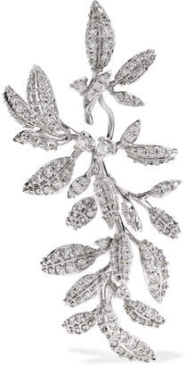 OLE LYNGGAARD COPENHAGEN - Winter Frost 18-karat White Gold Diamond Earring
