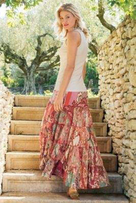 Soft Surroundings Ashland Skirt