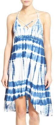 Volcom 'Paintbox' Tie Dye Swing Dress $45 thestylecure.com