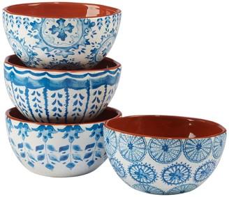 Certified International Porto 4-piece Ice Cream Bowl Set