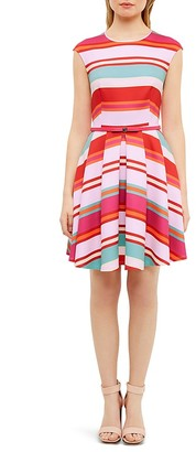 Ted Baker Pier Stripe Skater Dress $279 thestylecure.com