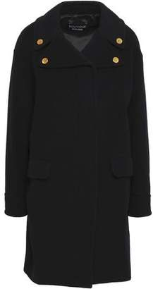Moschino Button-Embellished Wool And Cashmere-Blend Coat