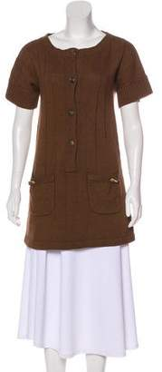 Mayle Short Sleeve Knit Dress