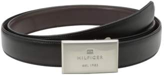 Tommy Hilfiger Men's Boxed Reversible Belt Set with Two Interchangeable Buckles