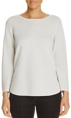 Eileen Fisher Crewneck Sweater $278 thestylecure.com