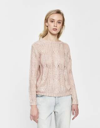 Farrow Aveline Cable Knit Sweater