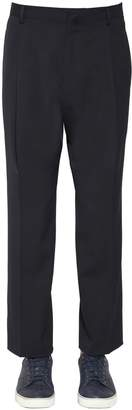 Lanvin 23cm Wool Twill Pants