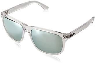 Ray-Ban RB4147 - 632530 Sunglasses Transparent w/ Dark Green
