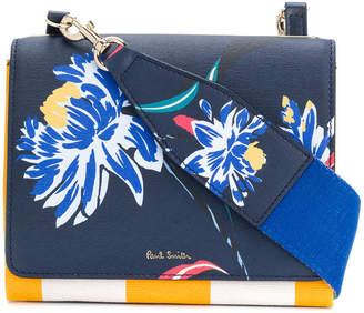 Paul Smith Pacific Rose print cross-body bag