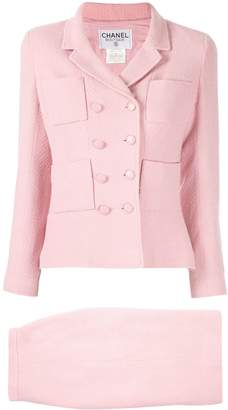 Chanel Pre-Owned 1996s Setup skirt suit