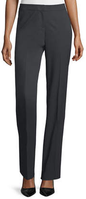 Lafayette 148 New York Stretch Wool Barrow Pant, Plus Size