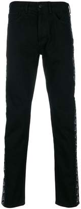 Marcelo Burlon County of Milan Kappa straight leg jeans