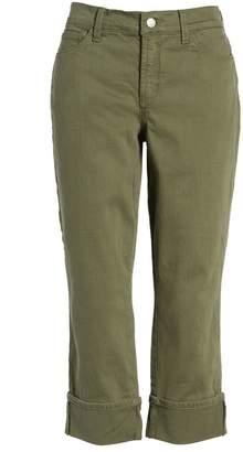 NYDJ Dayla Colored Wide Cuff Capri Jeans (Petite)