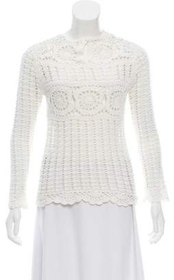 Etoile Isabel Marant Crochet Long Sleeve Top
