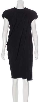Bottega Veneta Virgin Wool-Blend Midi Dress w/ Tags