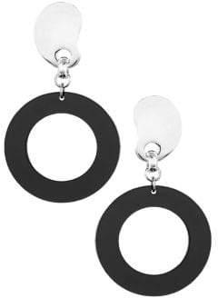 HBC BIKO X Amoeba Lucite Hoop Earrings