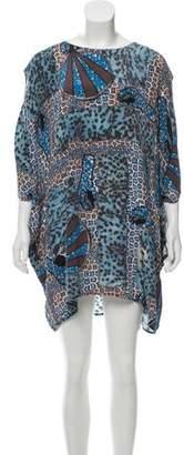 Acne Studios Silk Shift Dress