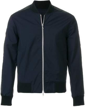 Officine Generale casual zipped bomber jacket