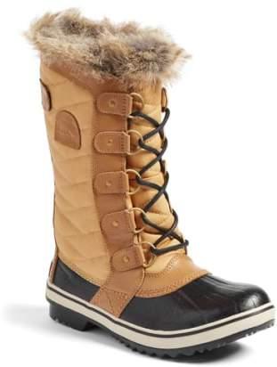 Women's Sorel 'Tofino Ii' Faux Fur Lined Waterproof Boot