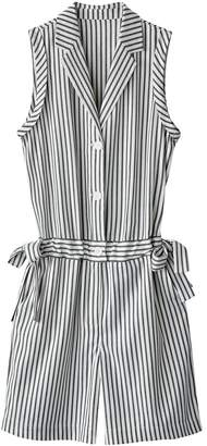 La Redoute COLLECTIONS Sleeveless Striped Playsuit