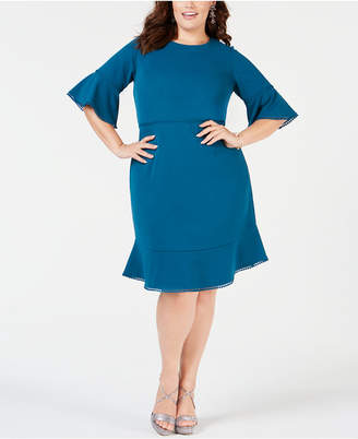 Plus Size Teal Dress - ShopStyle