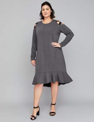 Lane Bryant Gray Plus Size Dresses - ShopStyle