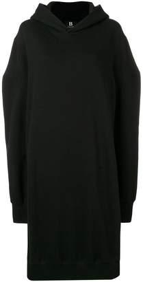 Yohji Yamamoto oversized hoodie dress