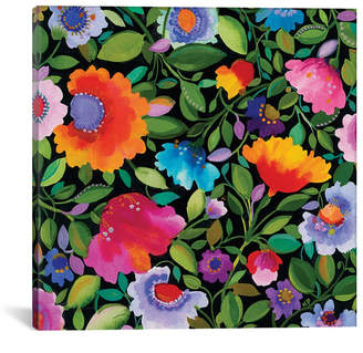 "iCanvas India Garden I"" By Kim Parker Gallery-Wrapped Canvas Print - 26"" x 26"" x 0.75"""