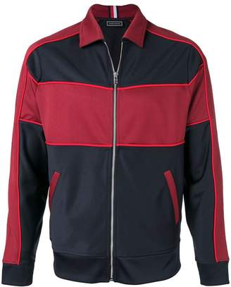 Tommy Hilfiger colour-block sport jacket