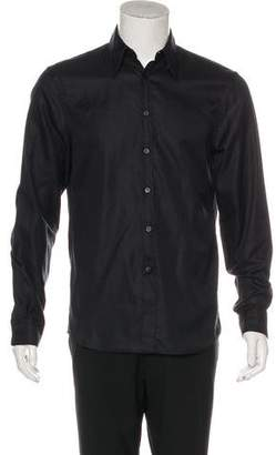 Alexander McQueen Woven Button-Up Shirt