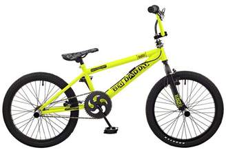 "Rooster Big Daddy 20"" BMX Bike - Yellow & Black"